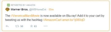 Twitter AmazonCart service