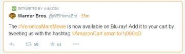 Twitter AmazonCart service
